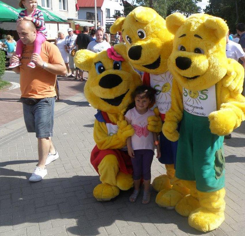 Pluszowe, kolorowe mniejsze i większe maskotki z całej Polski spotkają się w Rowach