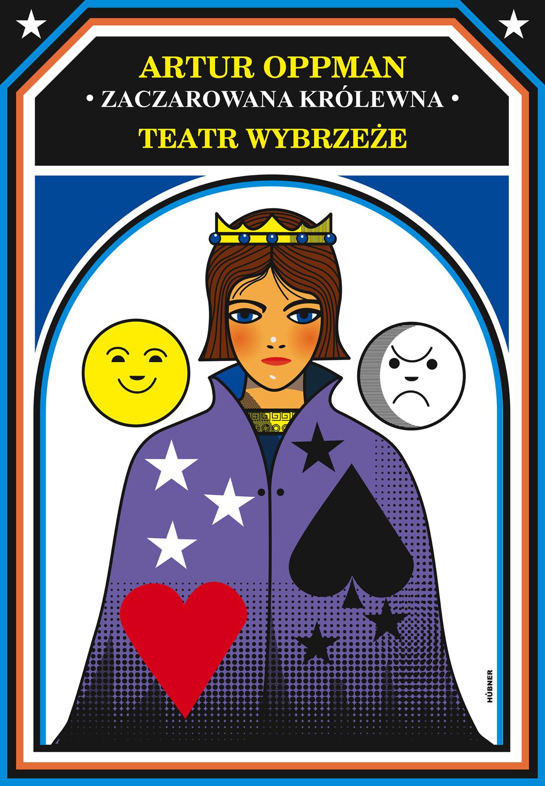 Plakat spektaklu Zaczarowana królewna