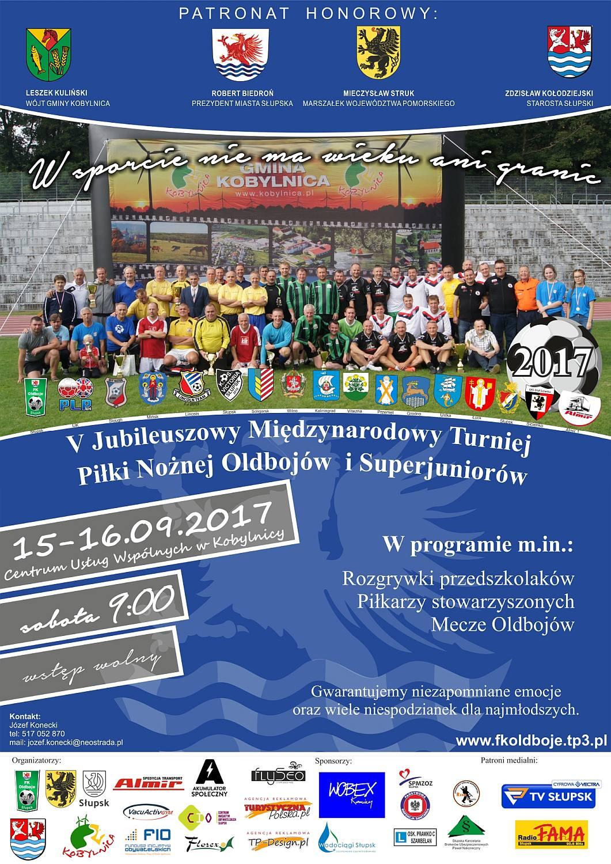 Międzynarodowy Turniej Piłki Nożnej - plakat