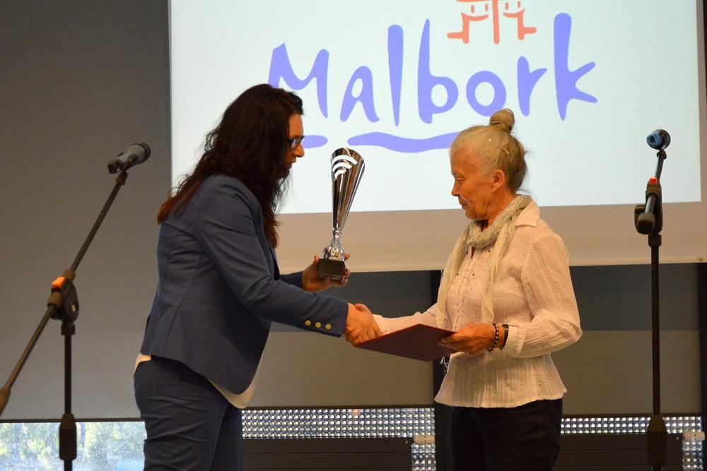 """Malbork – Wręczenie nagród w Konkursie o nagrodę Marszałka Województwa Pomorskiego """"Pomorskie dla Seniora"""""""