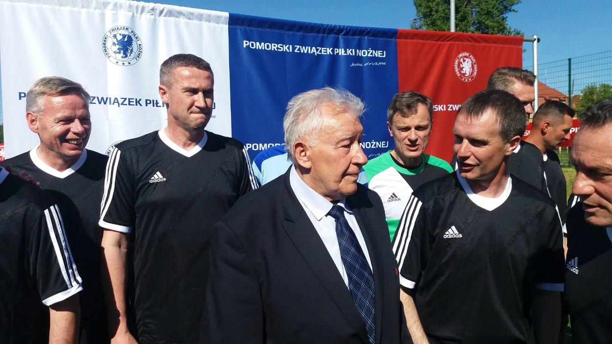 80. urodziny Wojciecha Łazarka. Piłkarski pojedynek podczas gdańskiego benefisu zasłużonego trenera