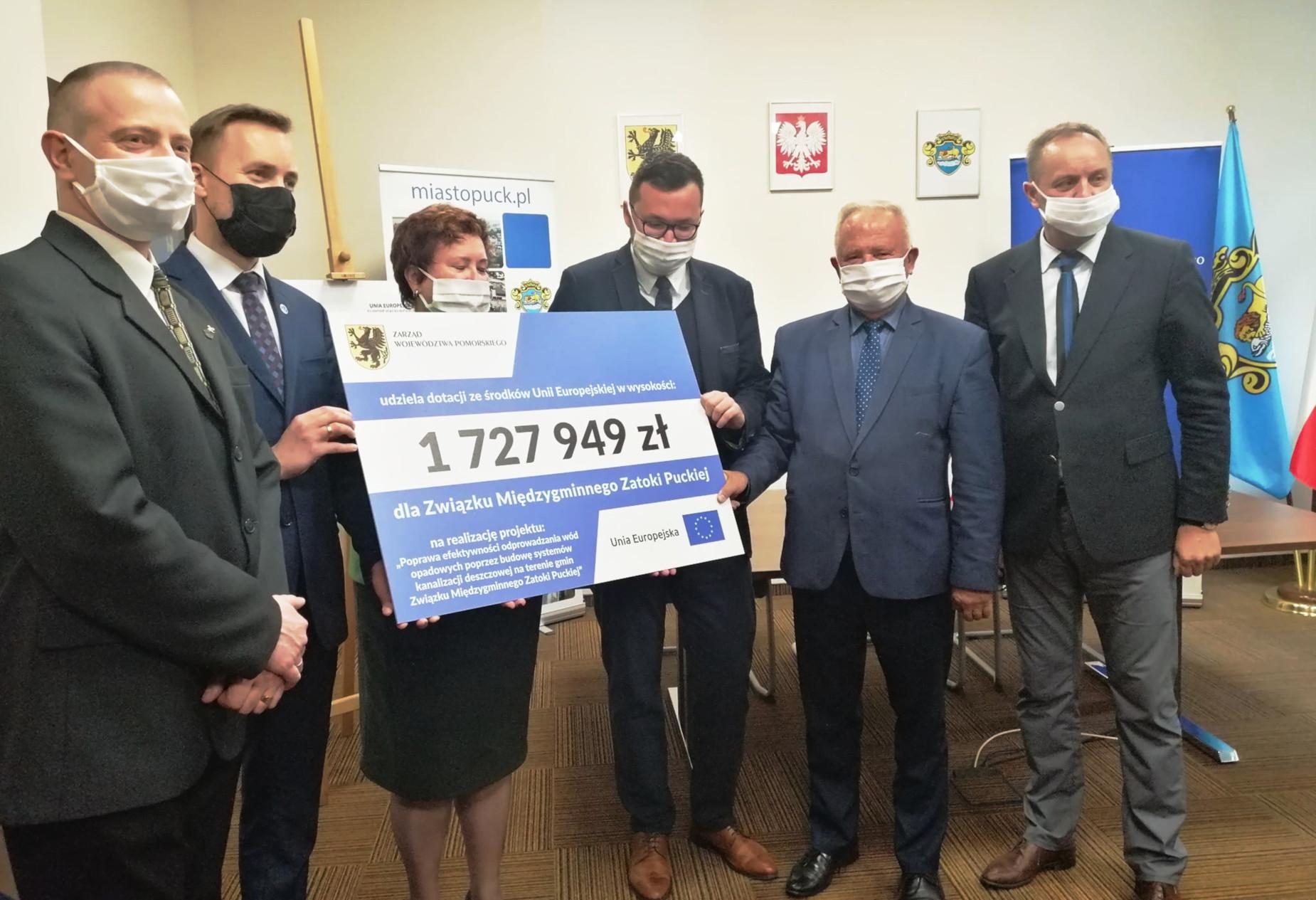 Ponad 1,7 mln zł więcej dla Pucka. Dzięki zwiększonemu dofinansowaniu powstanie m.in. kanalizacja deszczowa
