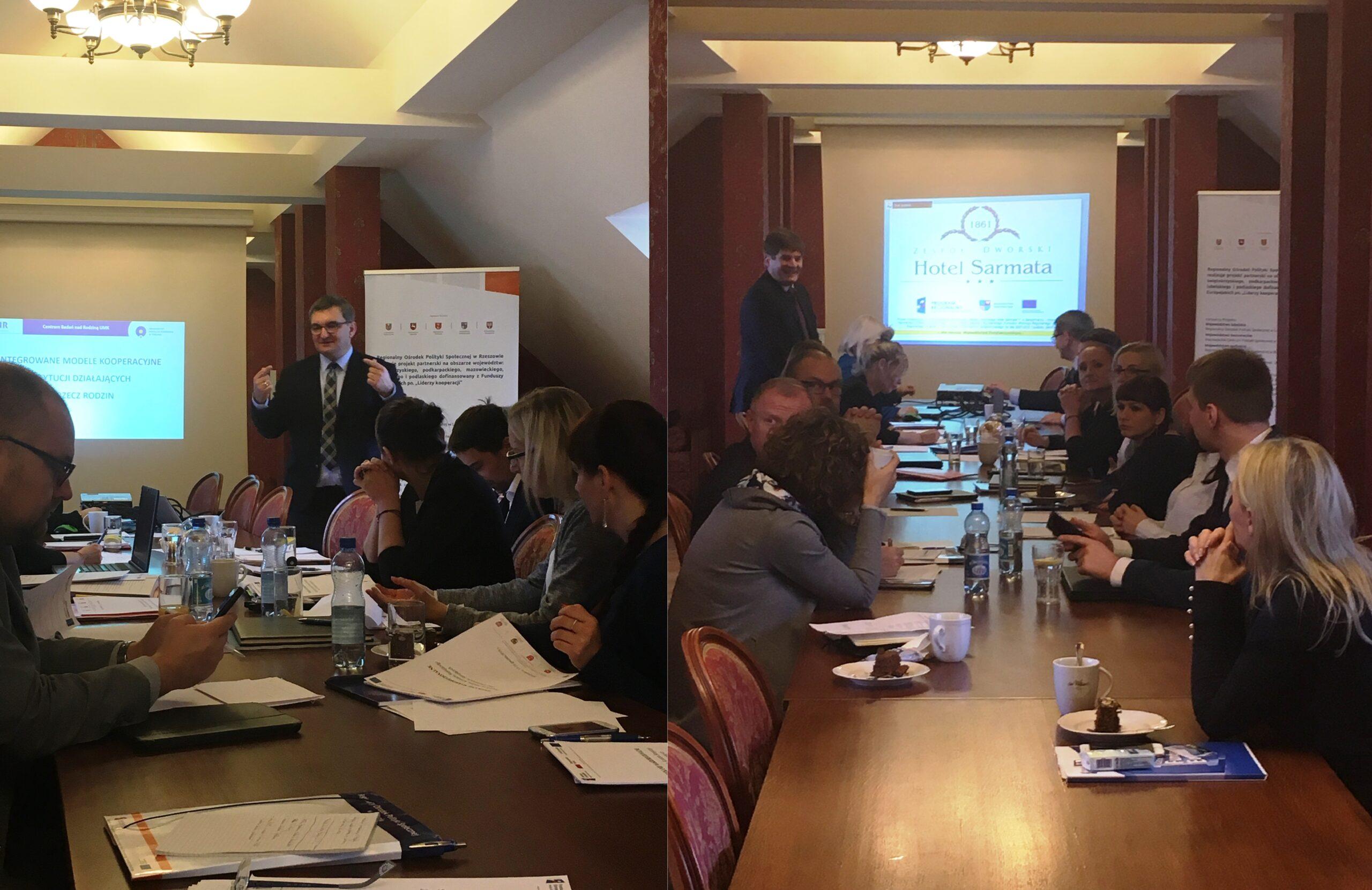 """Drugie spotkanie 3 Komitetów Sterujących w ramach realizacji projektu """"Kooperacja – efektywna i skuteczna"""""""