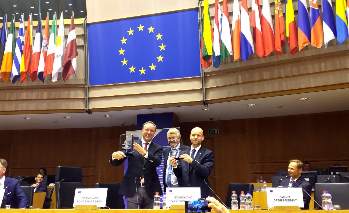 Pomorskie i Gdańsk przyjazne przedsiębiorcom. Wspólne działania zostały docenione w Brukseli