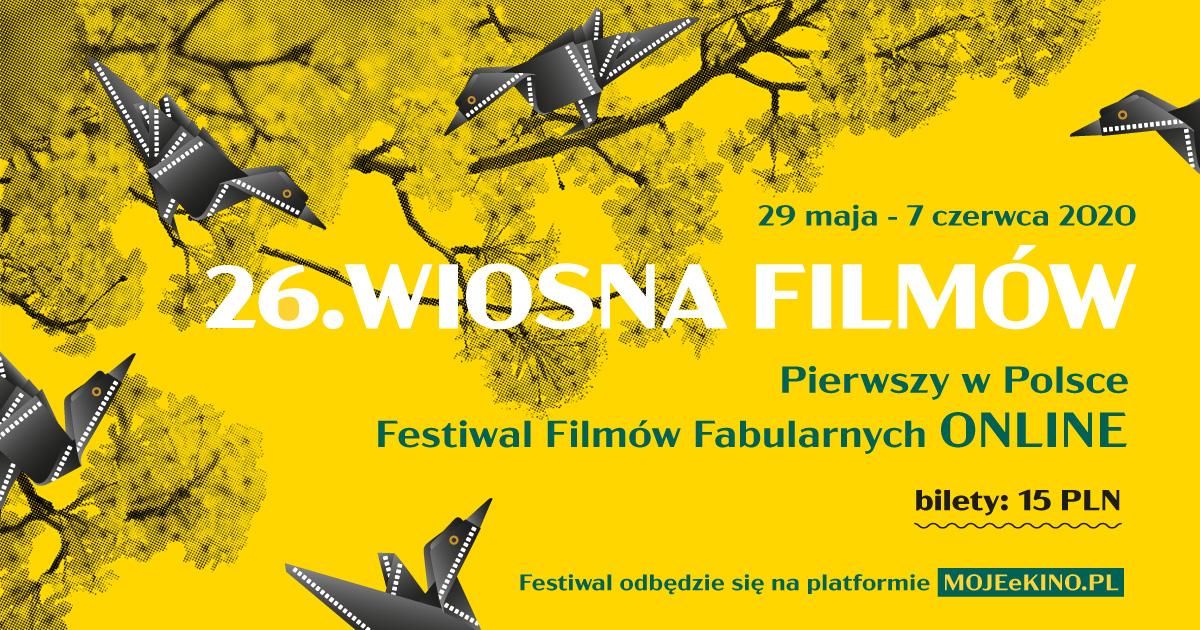 Baner festiwalu Wiosna Filmów