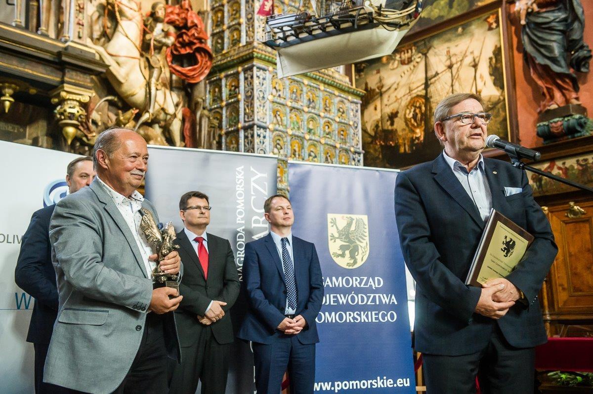 Na zdjęciu przedstawiciele spółki Gdańskie Inwestycje Komunalne (od lewej): Romuald Nietuspki i Ryszard Trykosko