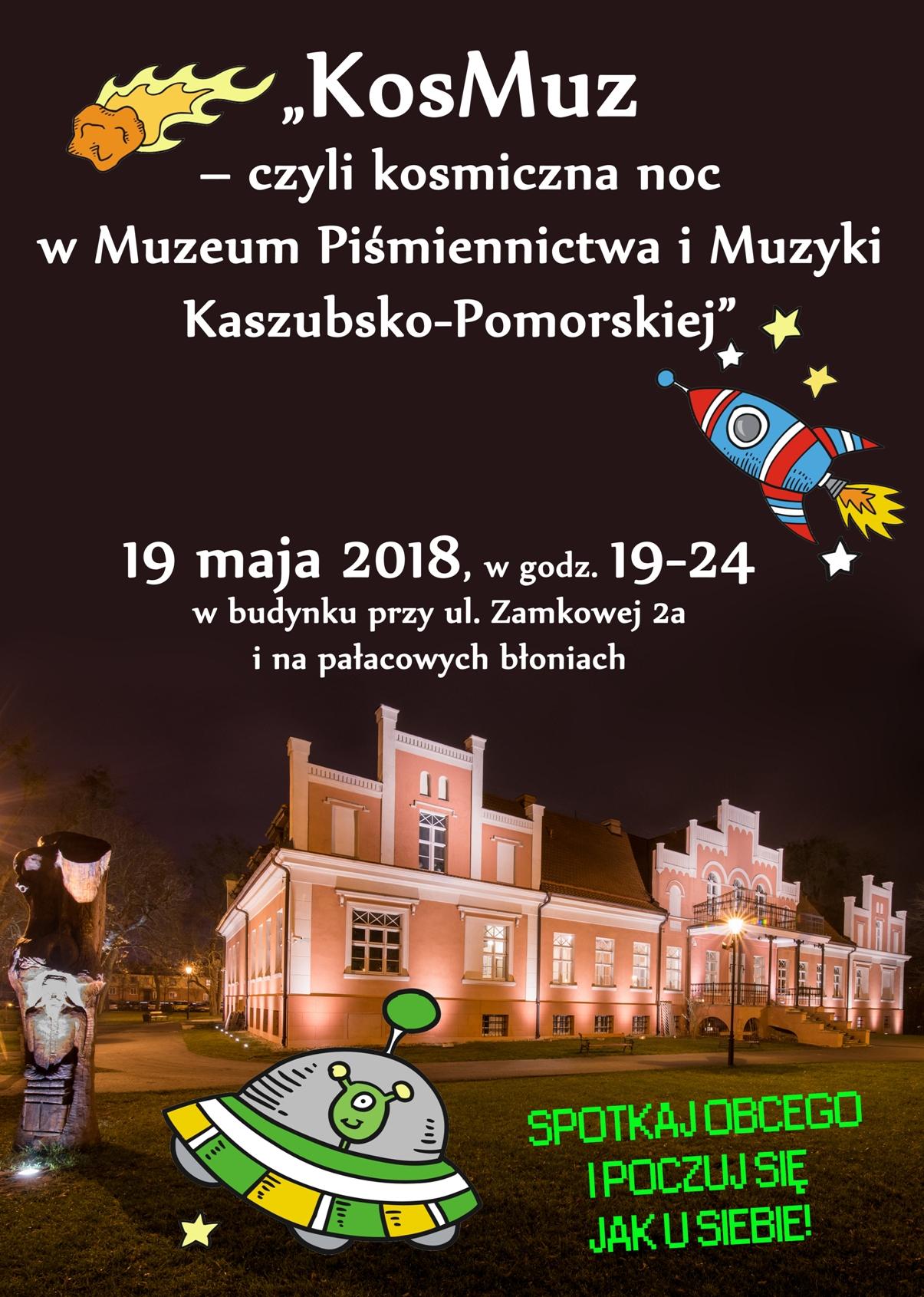 ENM 2018 - plakat muzeum w Wejherowie