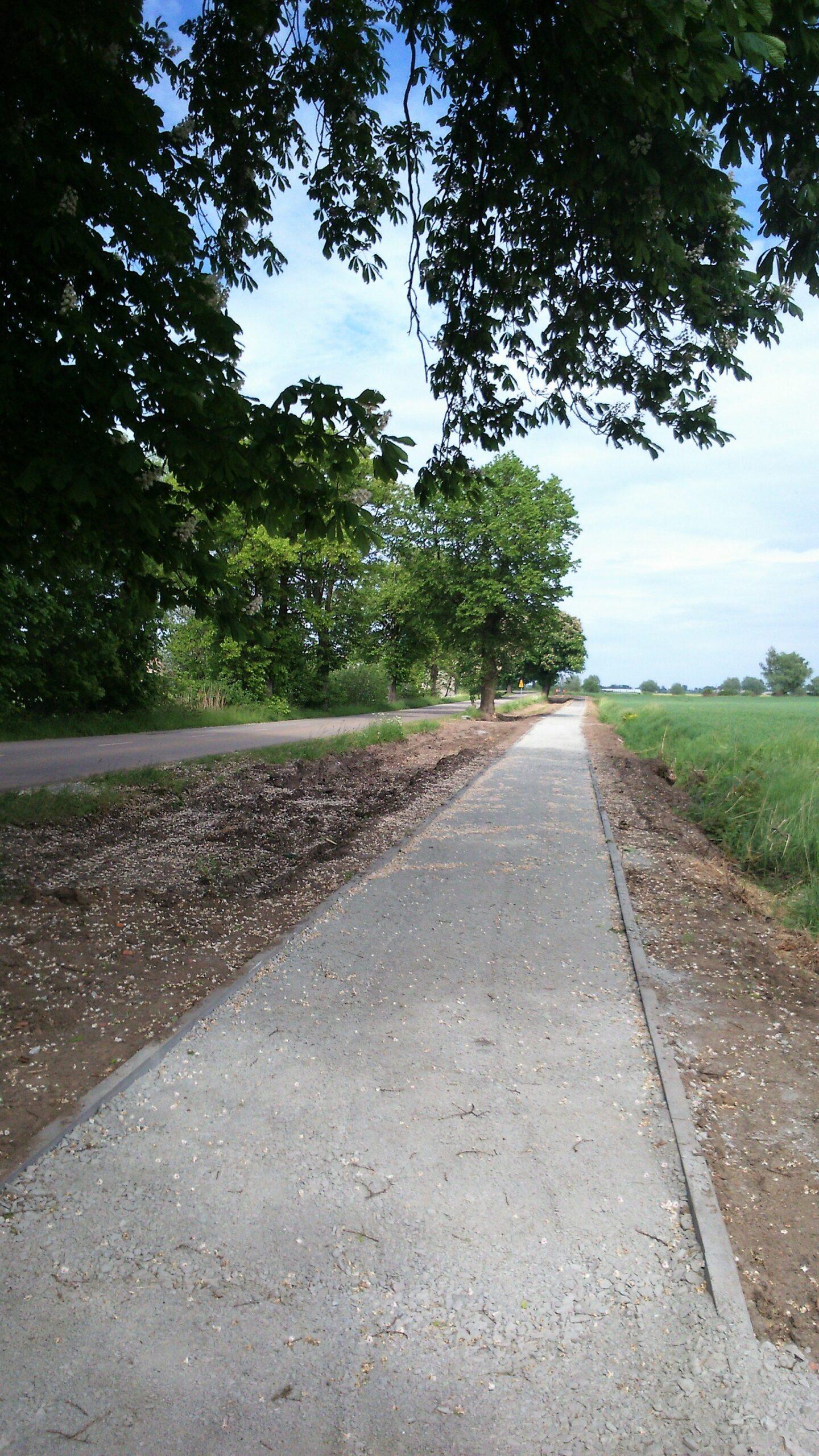 Ostaszewo – Wiślana Trasa Rowerowa na półmetku
