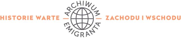 Logo Archiwum Emigranta