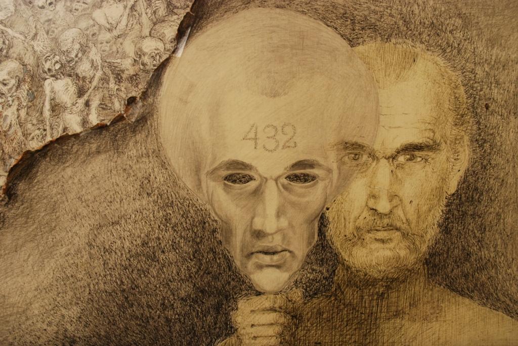 Był znakomitym scenografem i rysownikiem. Pokaz prac Mariana Kołodzieja w Pałacu Opatów