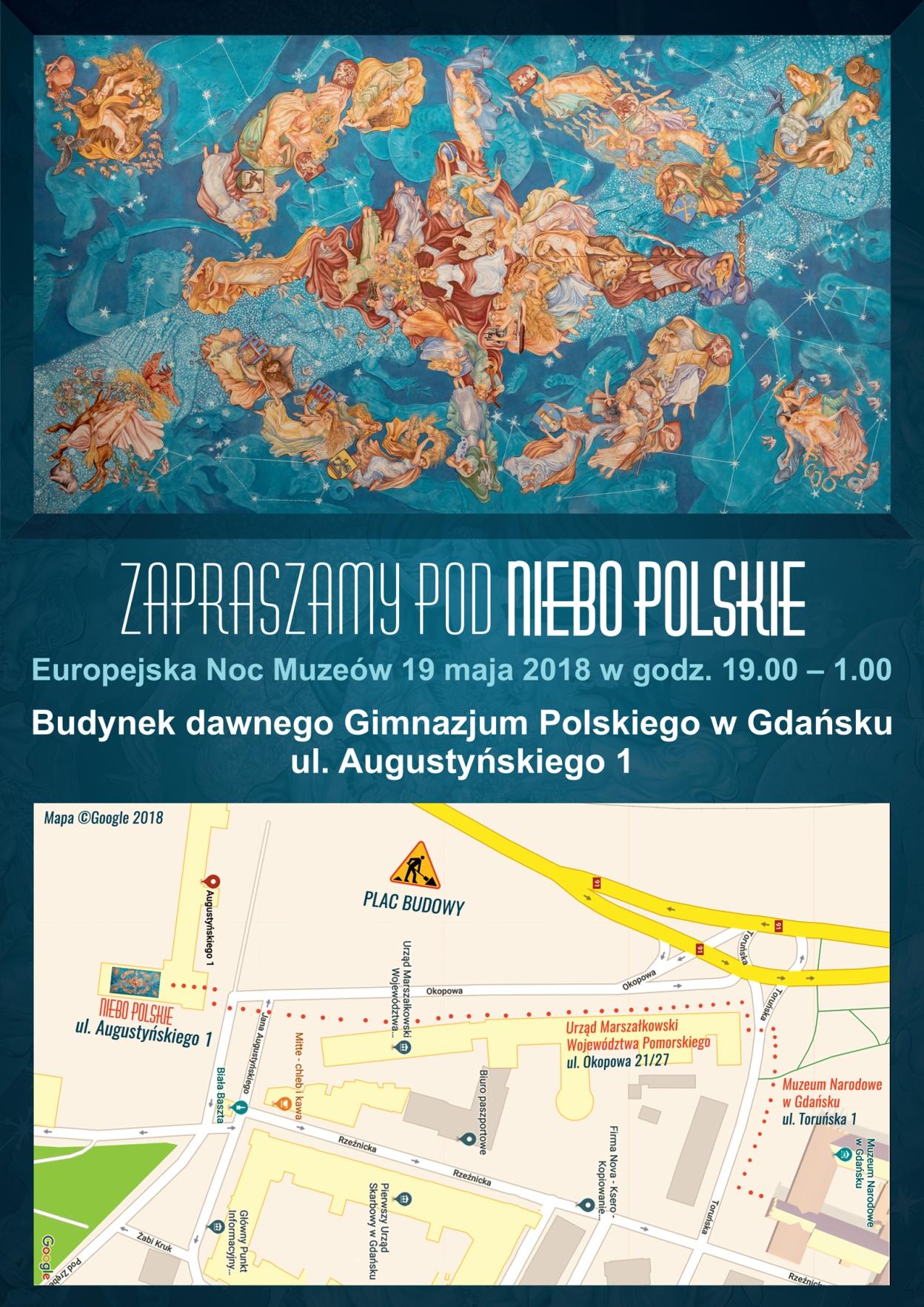 ENM 2018 - plakat Niebo polskie