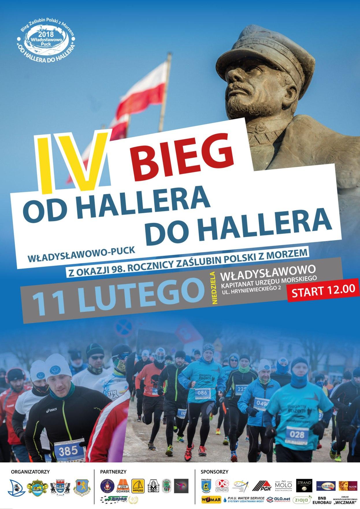 Bieg Zaślubin Polski z Morzem - plakat