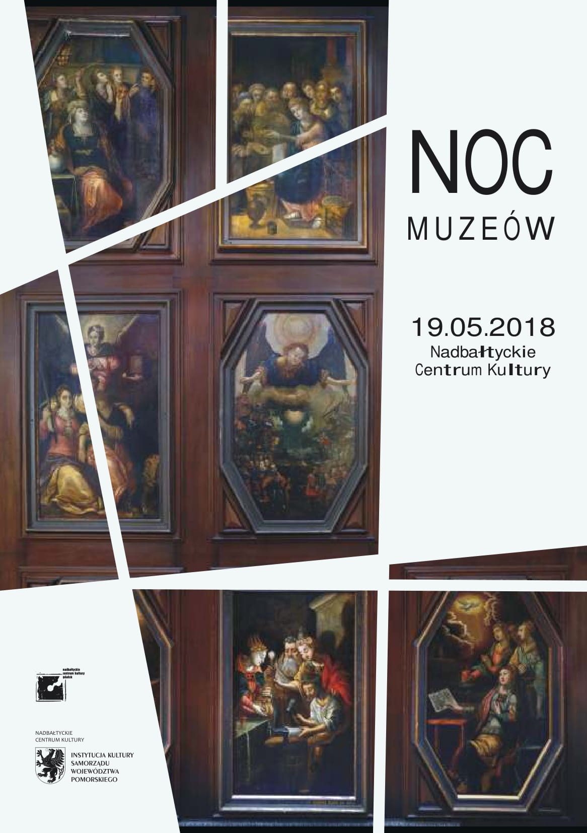 ENM 2018 - plakat Nadbałtyckie Centrum Kultury
