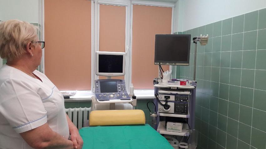 Pracownia endoskopowa w Szpitalu św. Wojciecha w Gdańsku