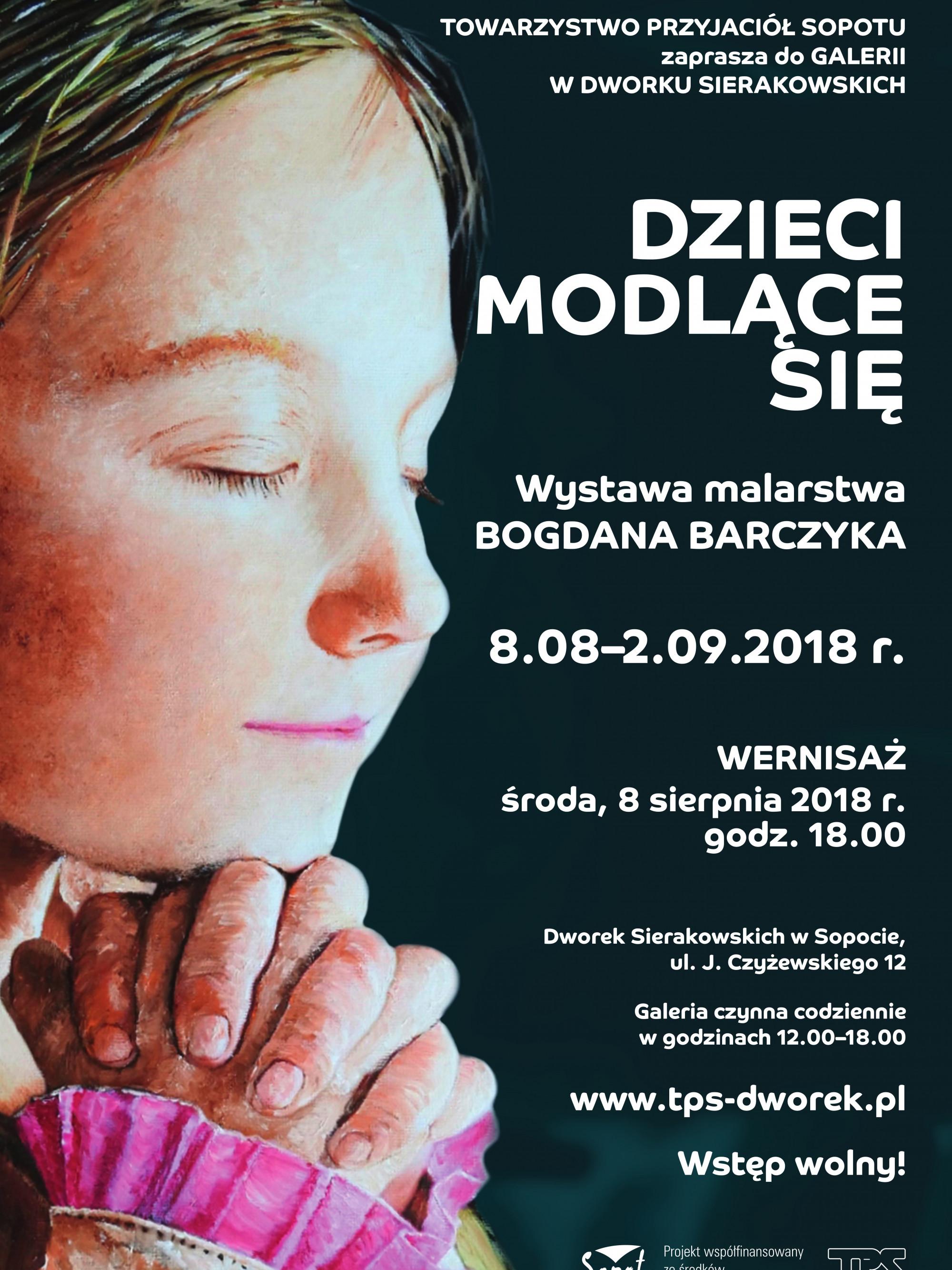 Dzieci modlące się_plakat