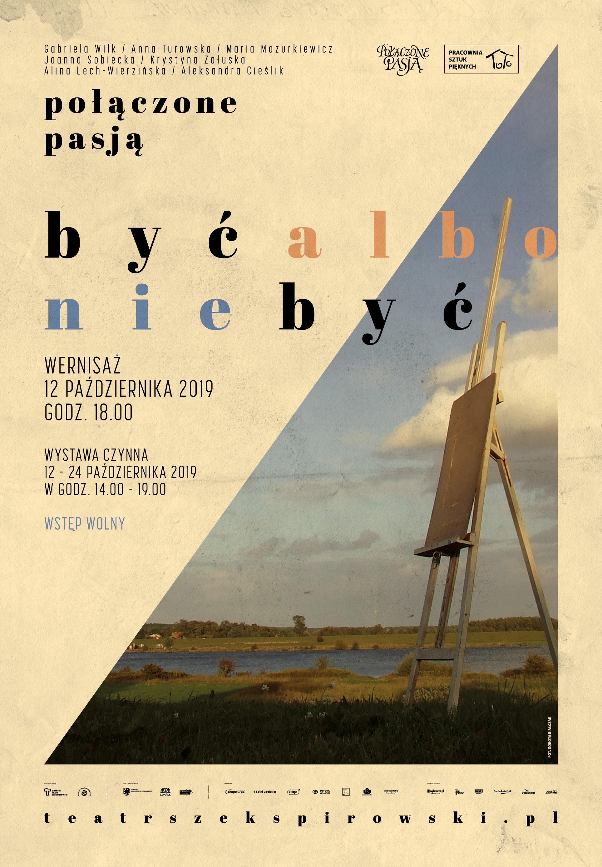 Być albo nie być wystawa_plakat