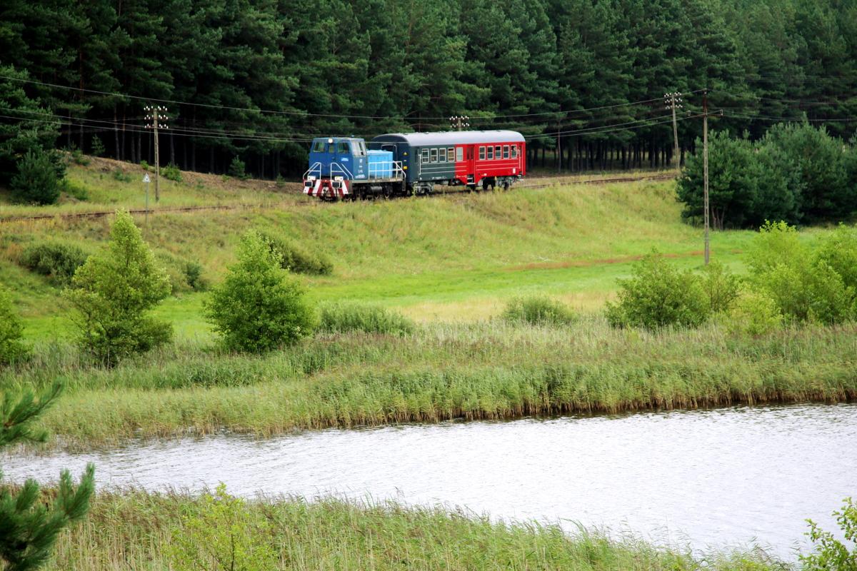 Wakacyjne połączenia kolejowe z Lipusza do Bytowa. Pierwsze pociągi pojadą w weekend