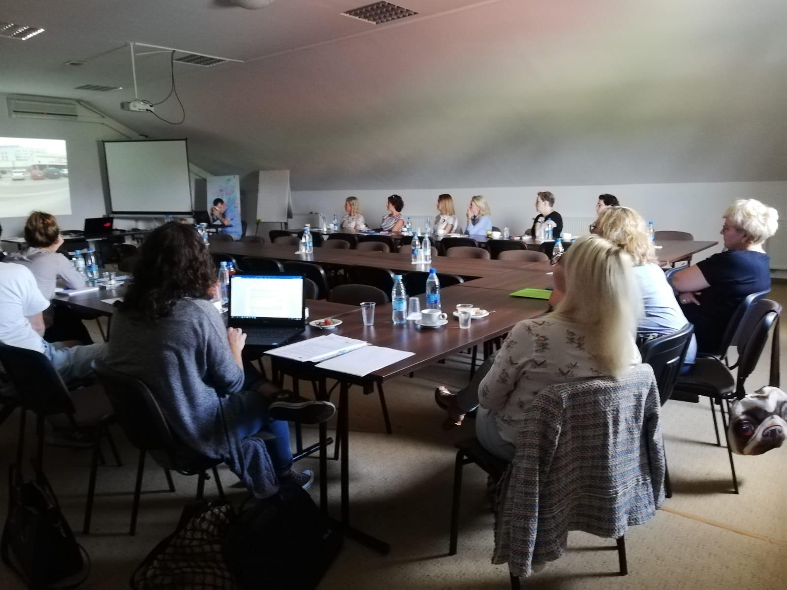 Spotkanie zespołu ds. monitorowania wdrażania standardu w Starej Kiszewie