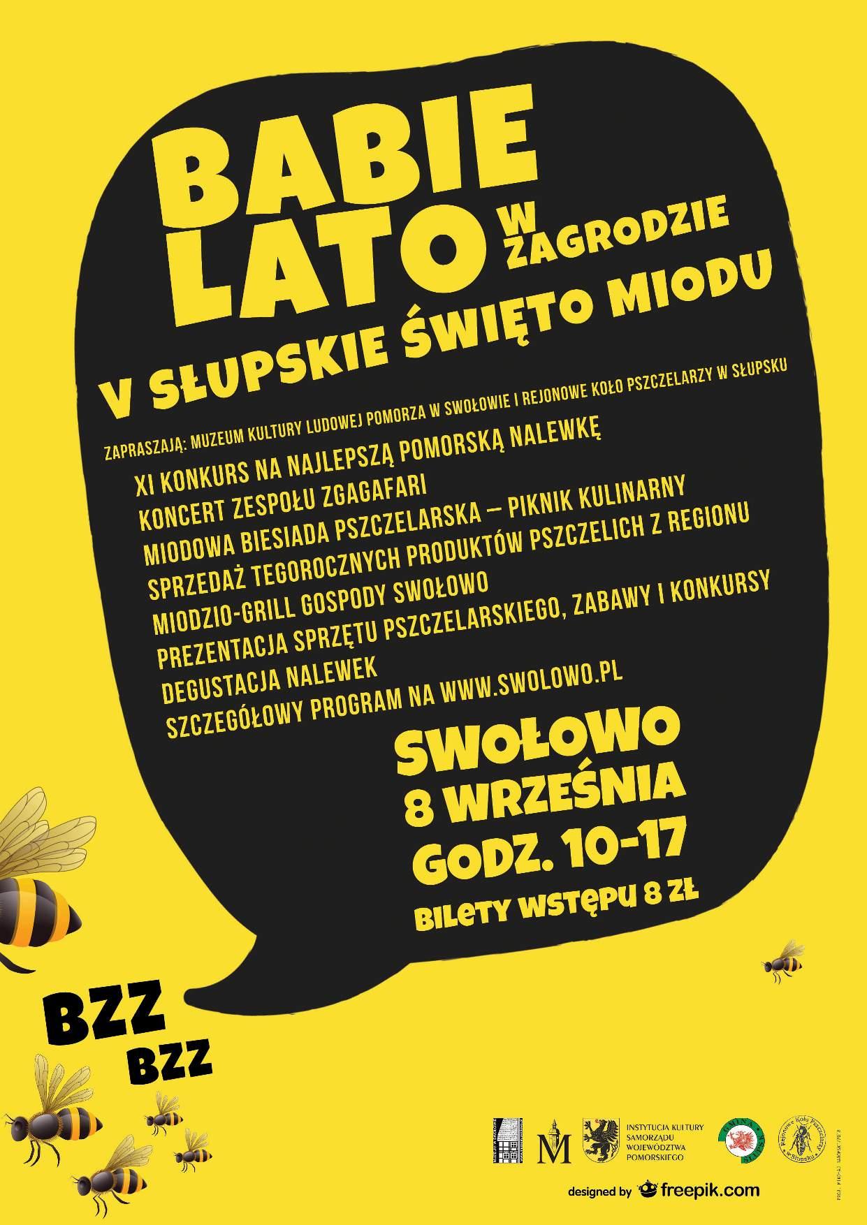 Plakat Babie Lato w Zagrodzie 2018