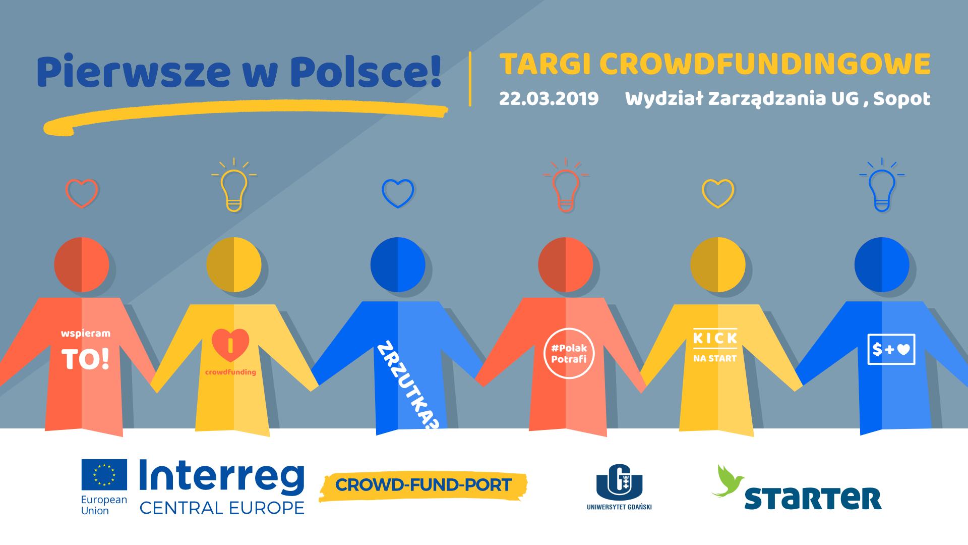 Pierwsze w Polsce Targi Crowdfundingowe!