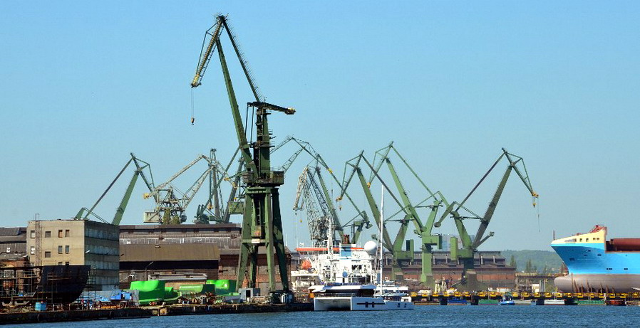 Najdłuższy most pontonowy w Polsce. Zakończenie dziennikarskiego rejsu na Przystani Żabi Kruk