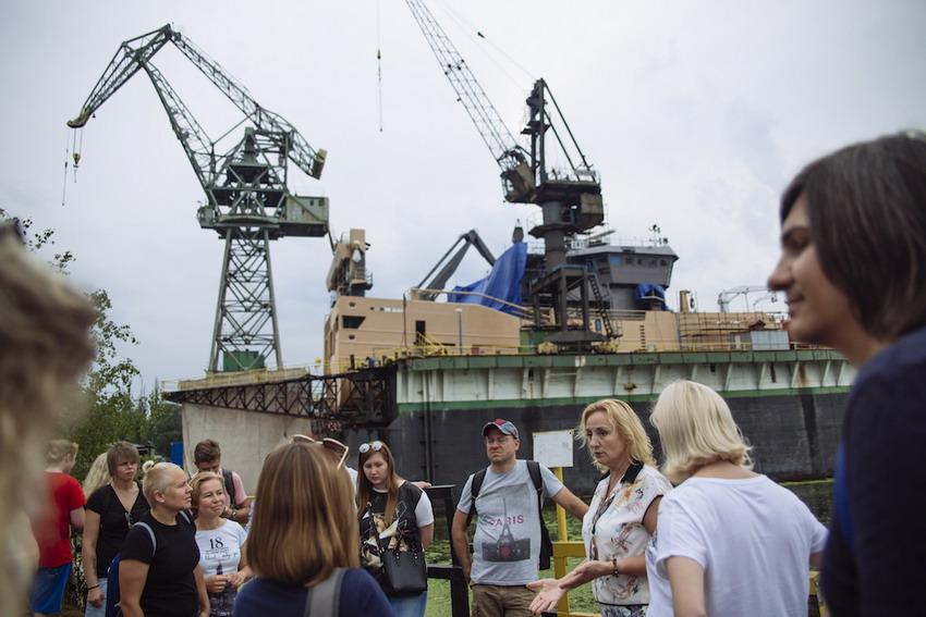 Z Metropolitanką spaceruj po terenach Stoczni Gdańskiej. Kobiety a wybory '89