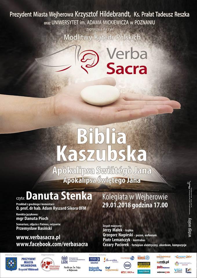 Verba Sacra 2018 - plakat