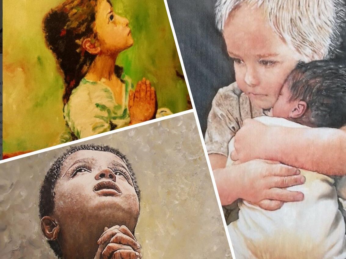 Uchwycić to, co nieuchwytne i intymne, czyli modlące się dzieci okiem Bogdana Barczyka. Wystawa w Dworku Sierakowskich