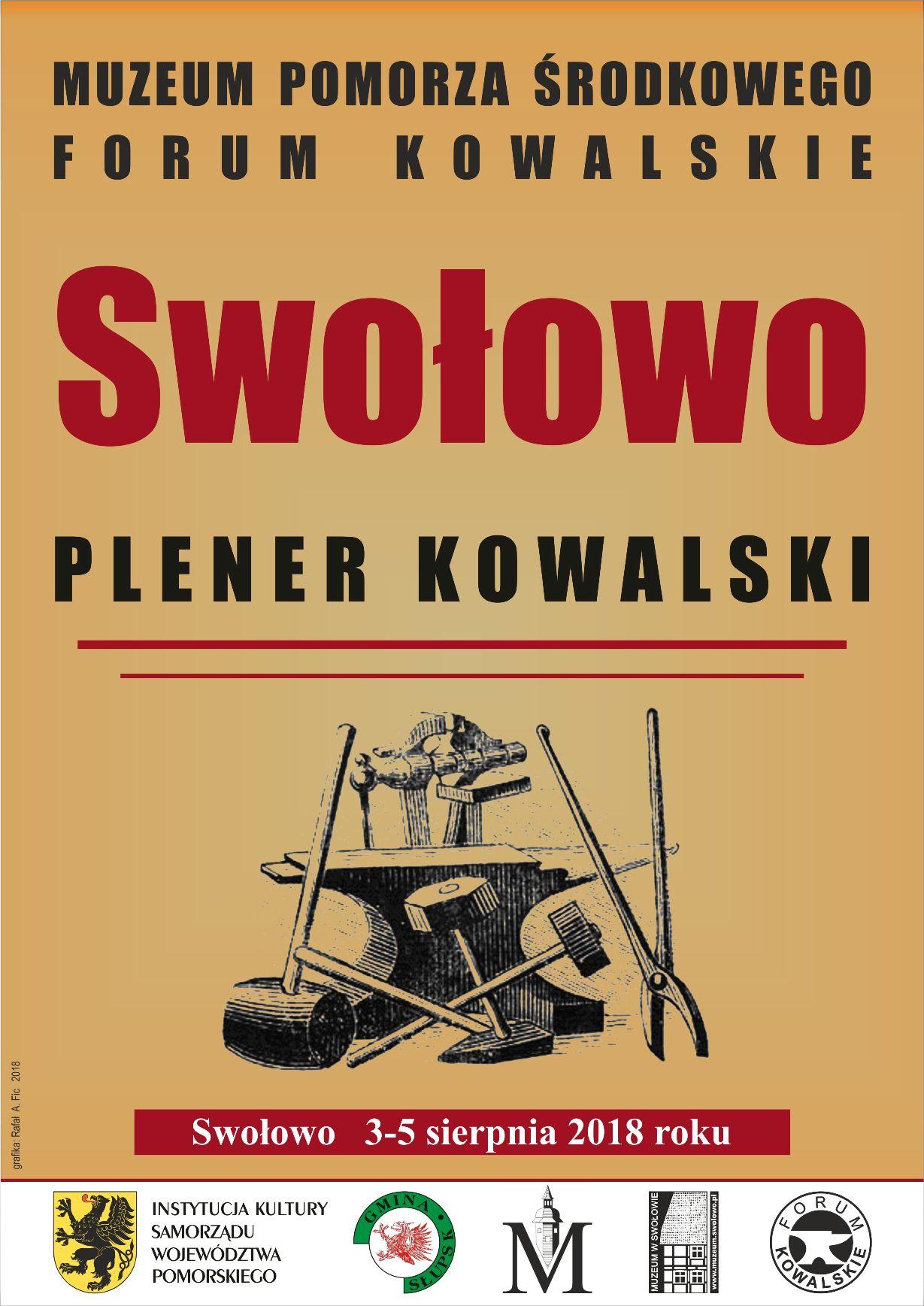 Plakat - Plener kowalski w Swołowie