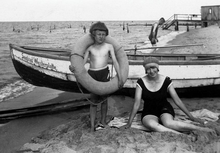 Pomorzanie na plaży. Gdańskie kąpieliska morskie do 1939 roku