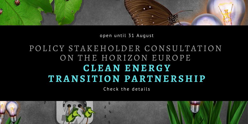 Konsultacje na temat partnerstwa Clean Energy Transition Partnership w programie Horyzont Europa