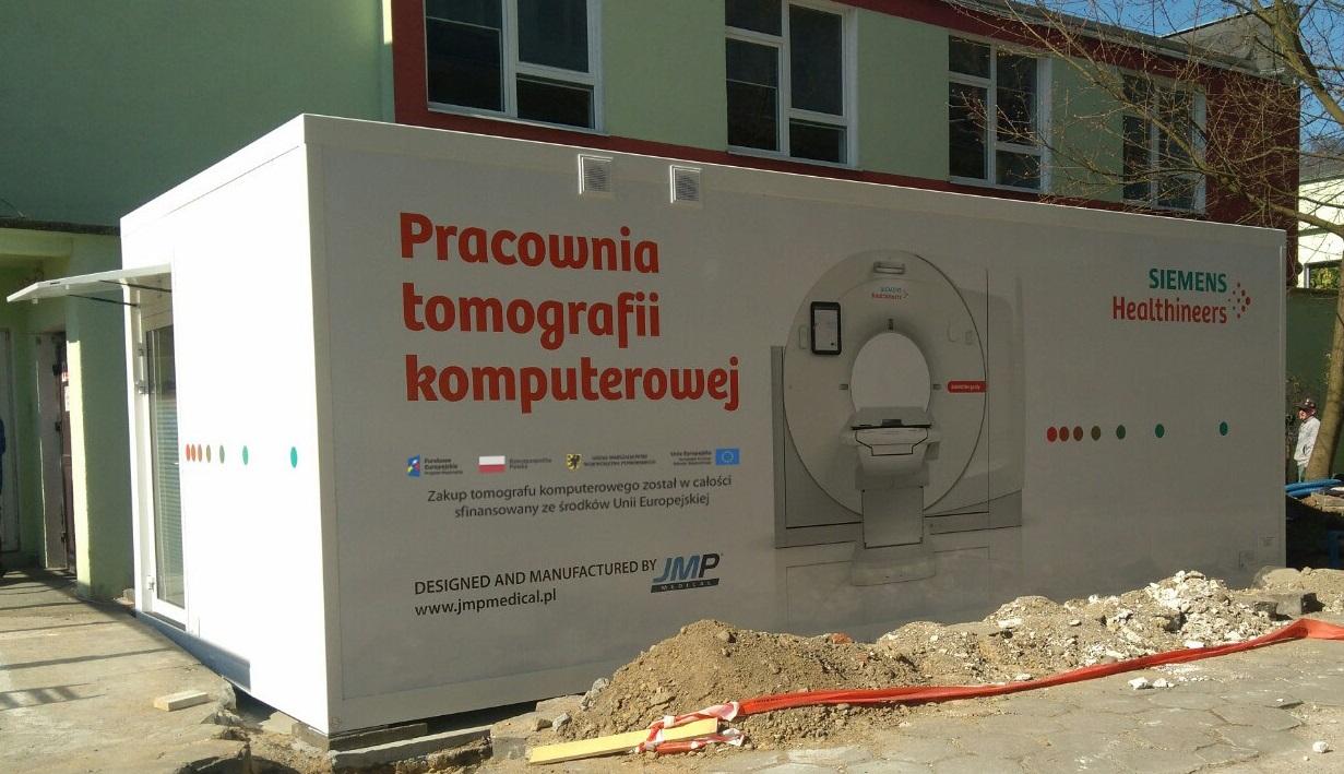 Szpital zakaźny w Gdańsku ma już tomograf komputerowy. Urządzenie do diagnozowania pacjentów z SARS-CoV-2 kupiono ze środków Unii Europejskiej