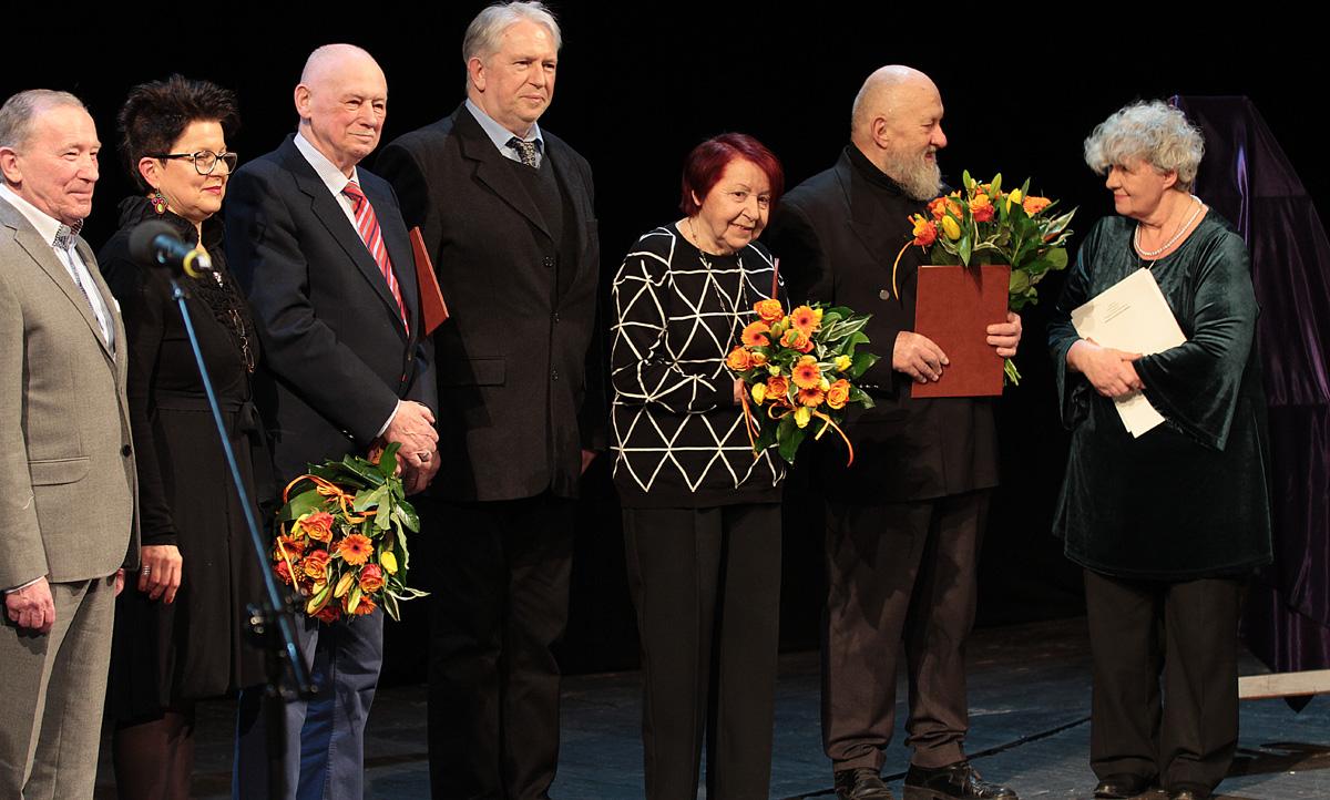 Uhonorowani przez ZASP. Fot. Natalia Kłopotek-Główczewska