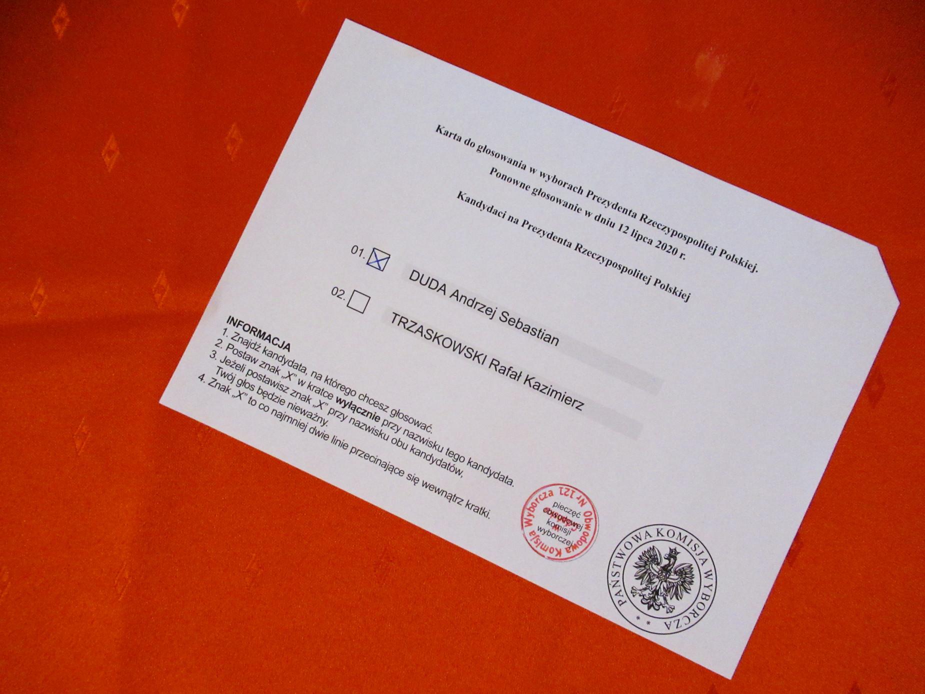 Andrzej Duda zwycięzcą II tury wyborów. Jednak na Pomorzu liderem okazał się Rafał Trzaskowski