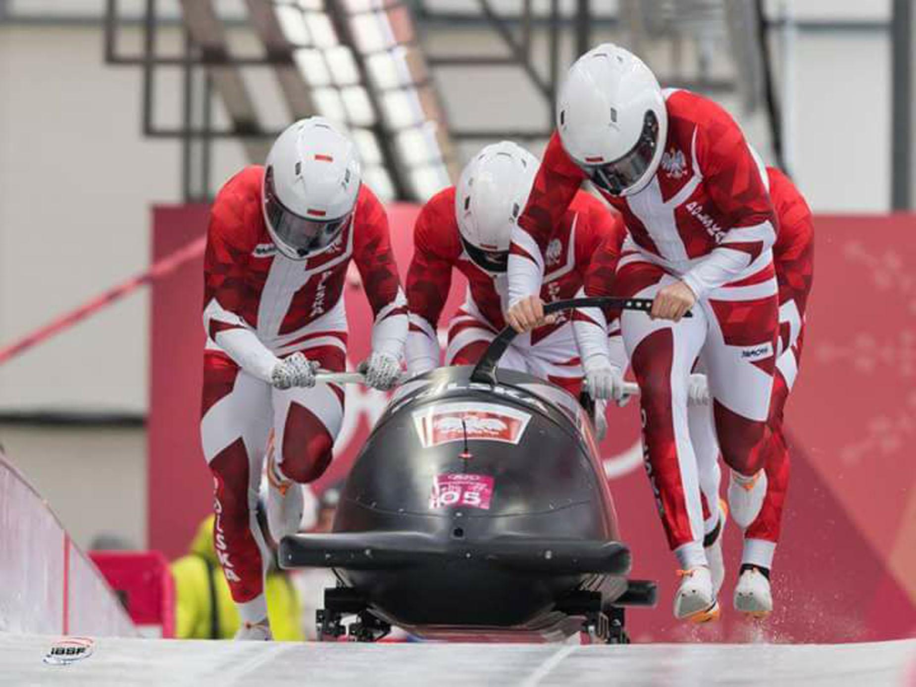 """""""Oplem po sukces na olimpiadzie w PyeongChang"""". Bobsleiści podsumowali występ na Igrzyskach Olimpijskich"""