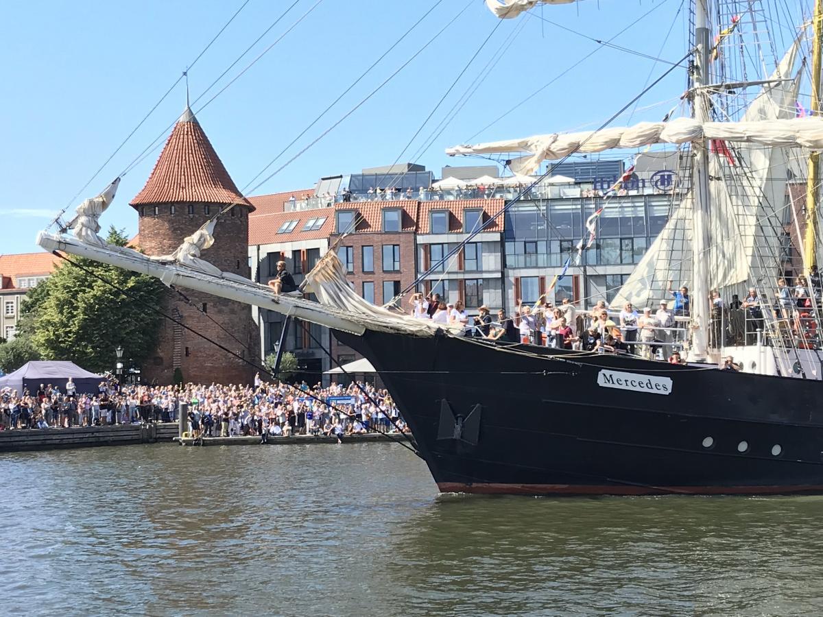 Wielkie żeglarskie święto nad Motławą. Trwa Baltic Sail Gdańsk 2019