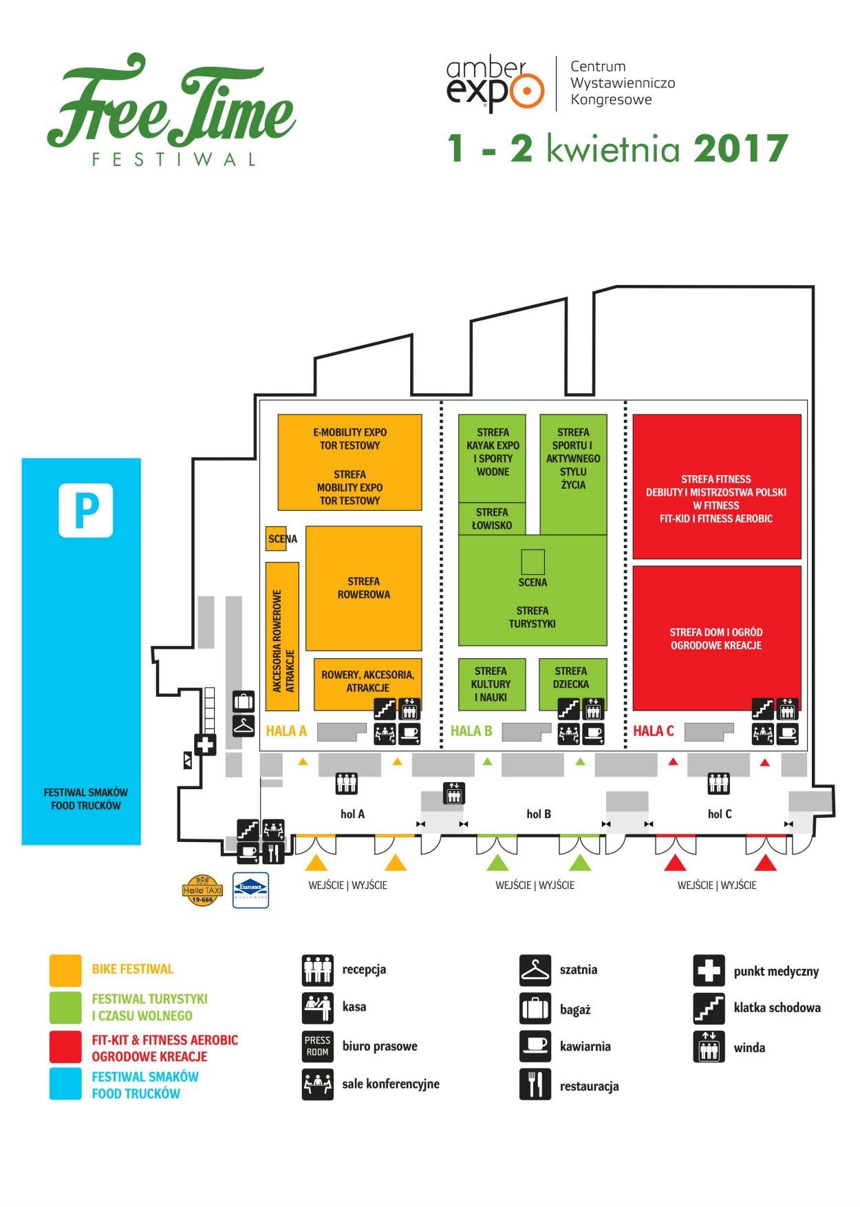 Mapa Free Time Festiwal 2017