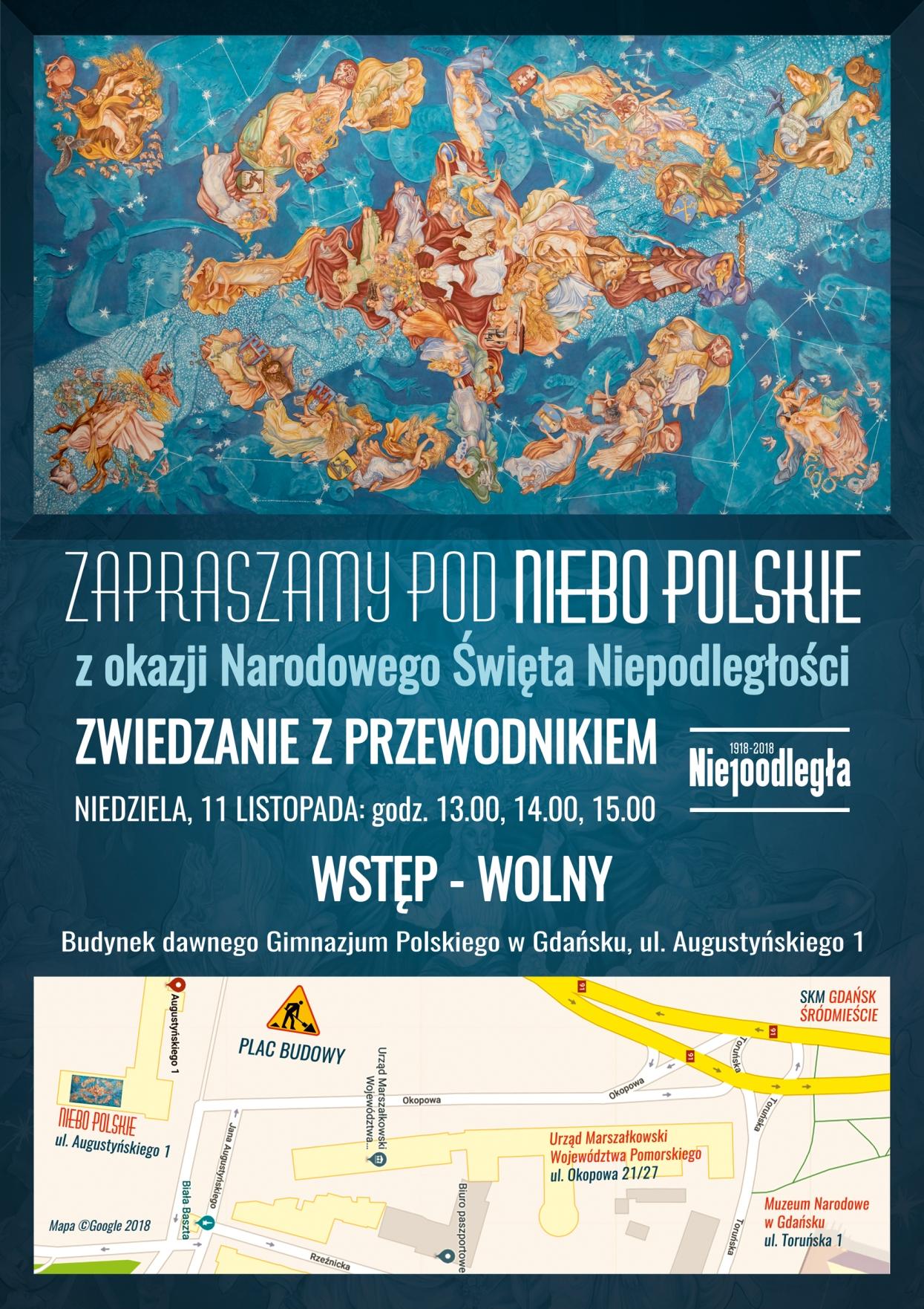 Plakat Niebo polskie