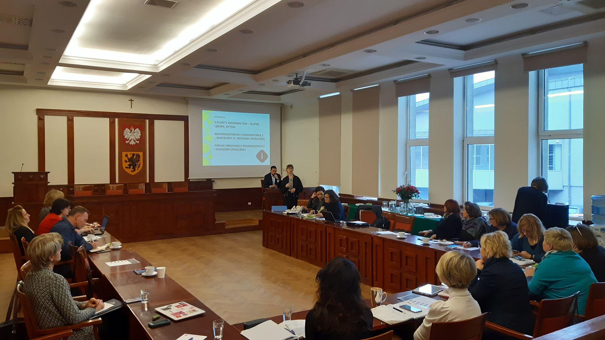 Pierwsze posiedzenie Pomorskiego Komitetu Rozwoju Ekonomii Społecznej w 2020 r. [RELACJA, MATERIAŁY DO POBRANIA]