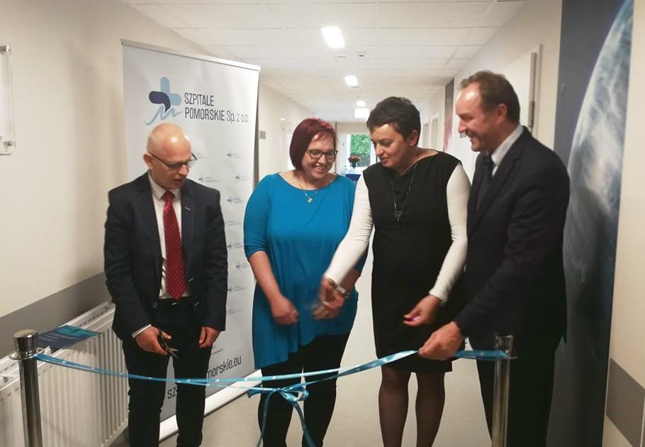 Hematologia w Redłowie rozbudowana za ponad 9,5 mln zł. Ma więcej łóżek, wkrótce zacznie też działać Bank Komórek