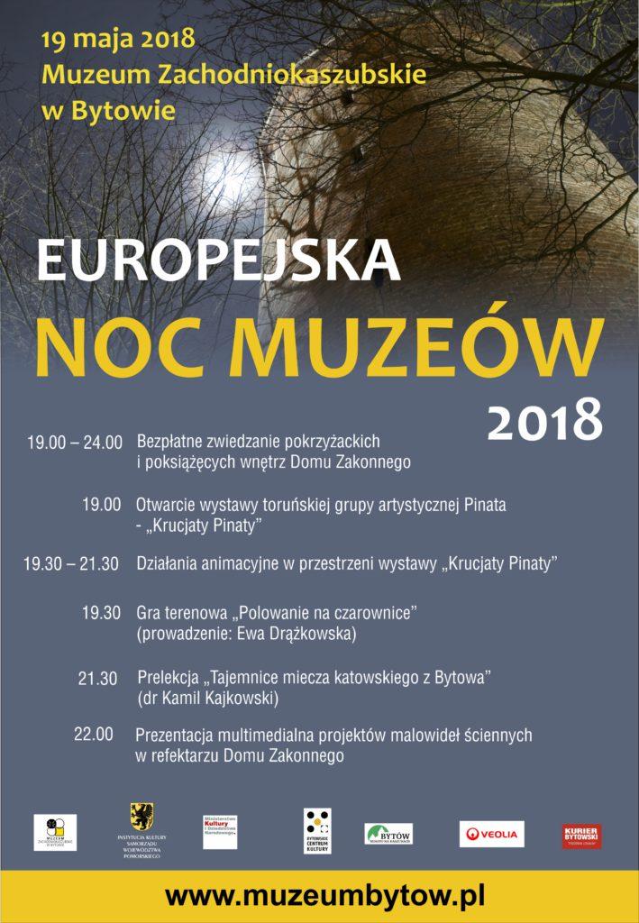 ENM 2018 - plakat muzeum w Bytowie