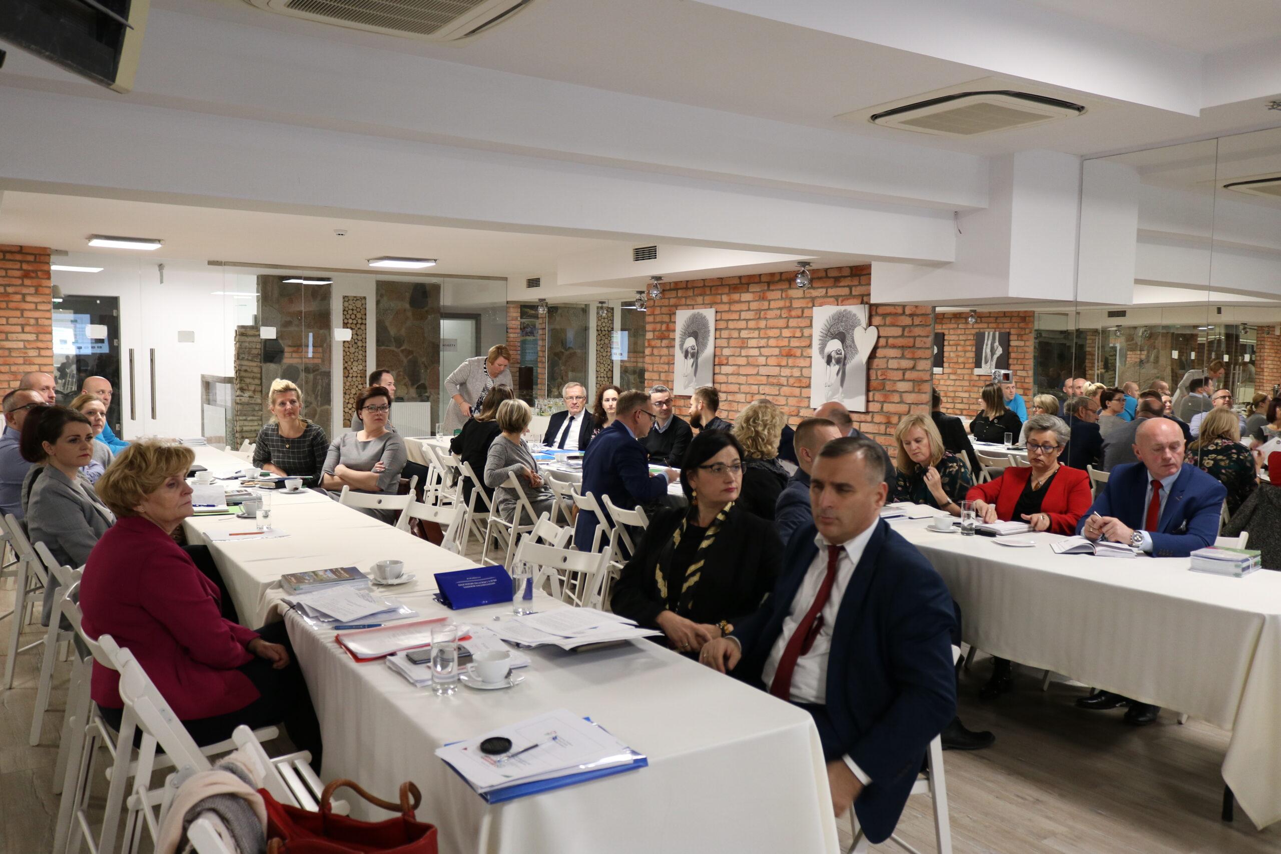 Spotkanie kadry kierowniczej powiatowych centrów pomocy rodzinie z Pomorza