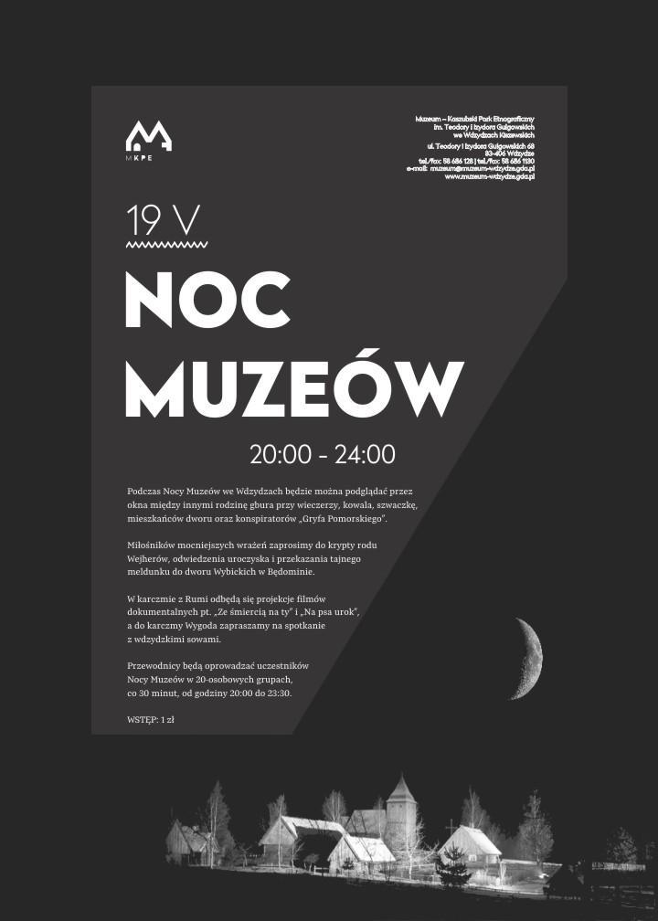 ENM 2018 - plakat skansen we Wdzydzach