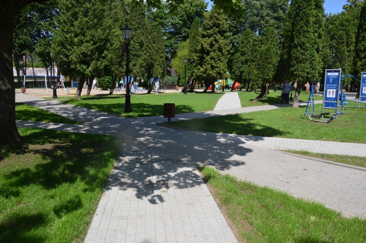 To będzie doskonałe miejsce do odpoczynku i zabawy. Otwarcie parku im. Majkowskiego w Kartuzach