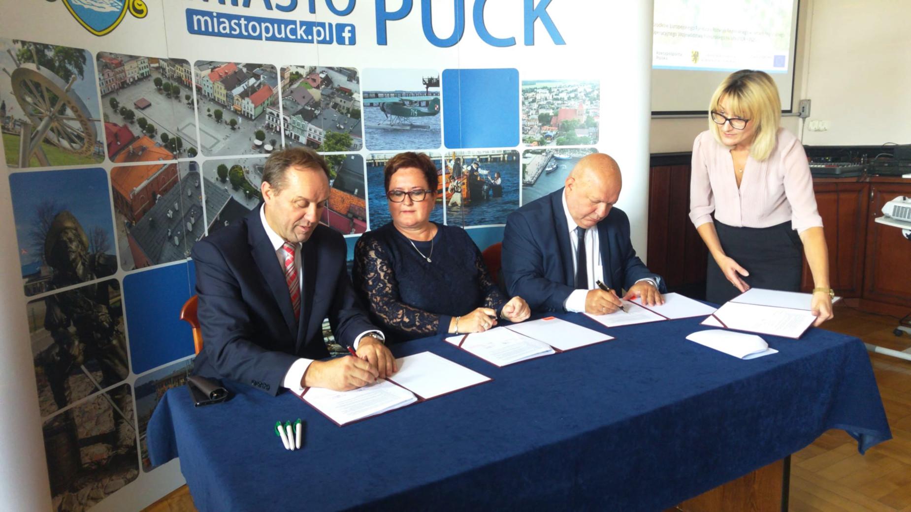 Będą zmiany w śródmieściu Pucka. Budynki zyskają nowy wygląd, a mieszkańcy centrum wsparcia i liczne usługi społeczne