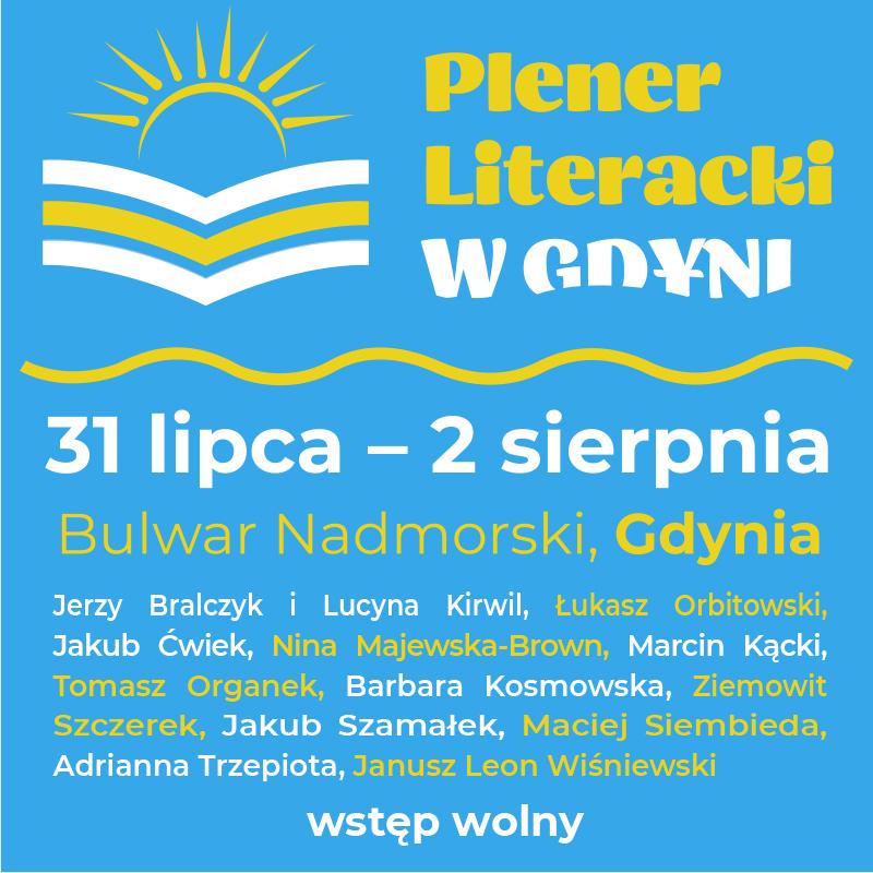 Plener Literacki w Gdyni plakat