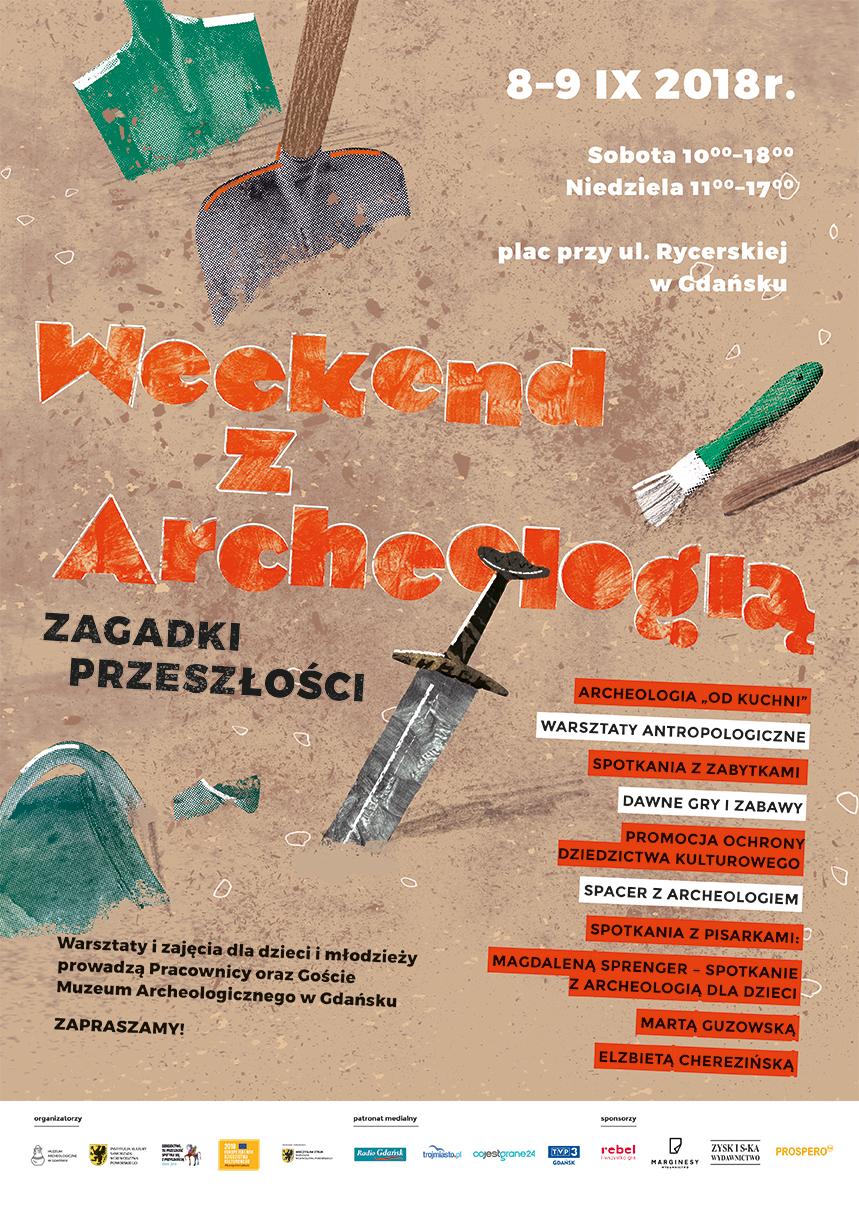 Plakat Weekend z Archeologią