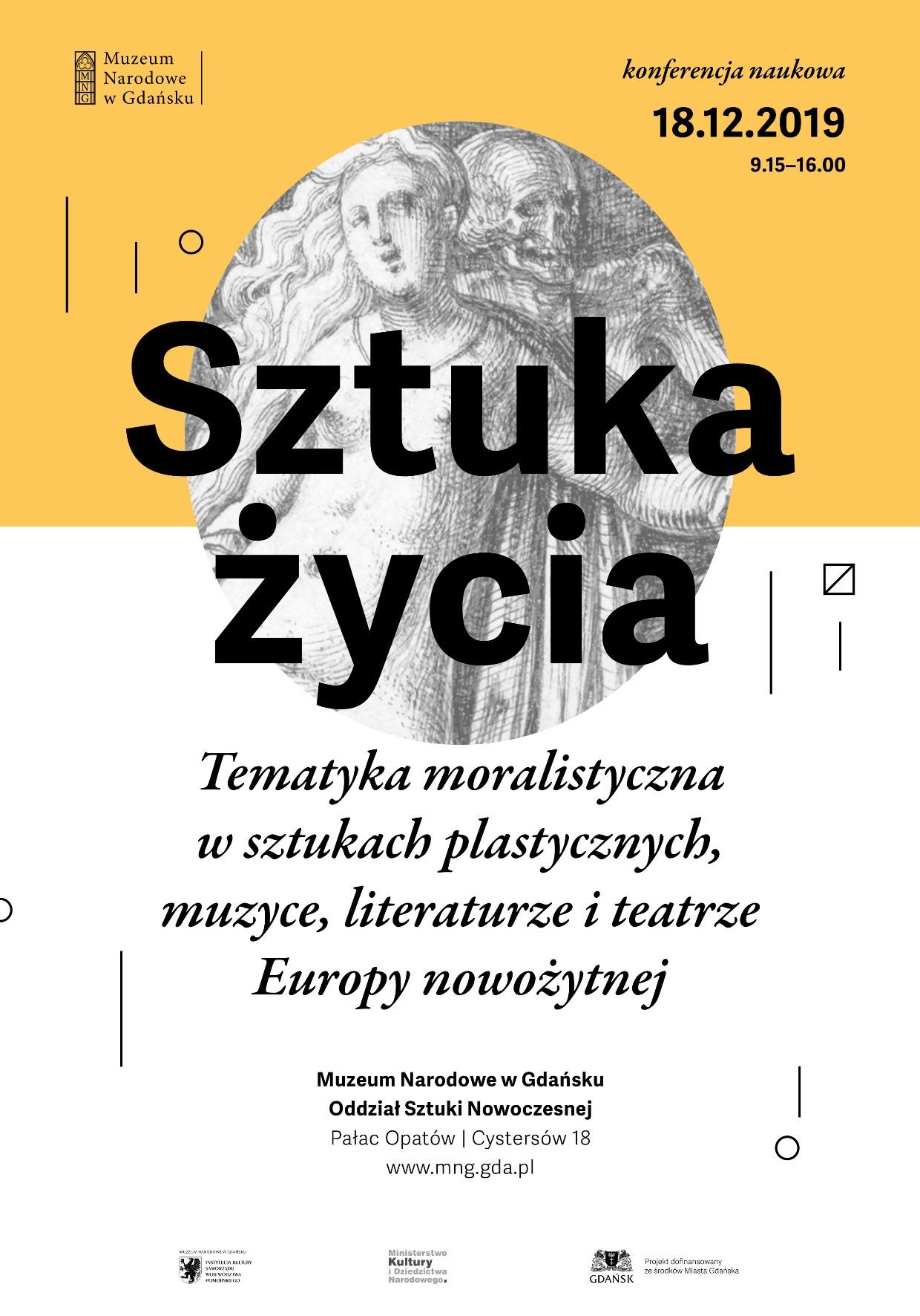Plakat konferencji Sztuka życia