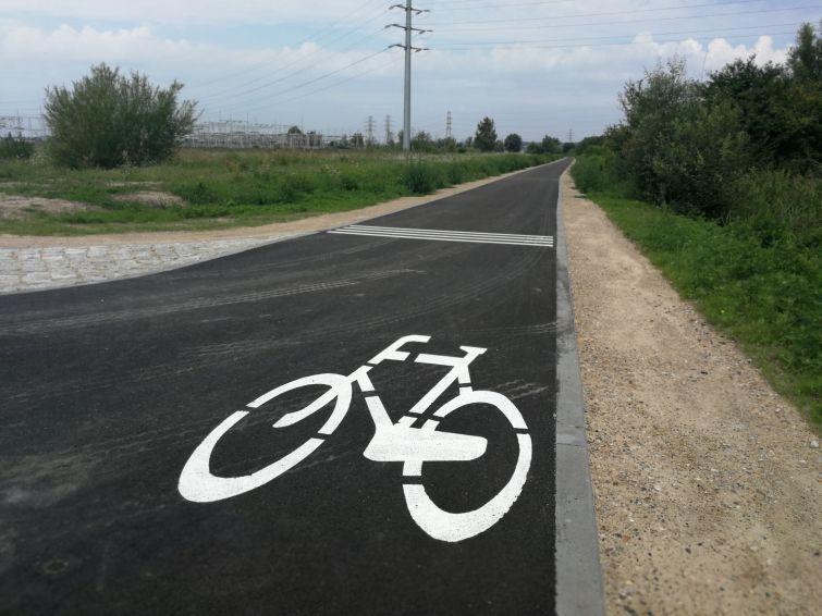 Zakończono budowę drogi rowerowej Miałki Szlak – Altanki