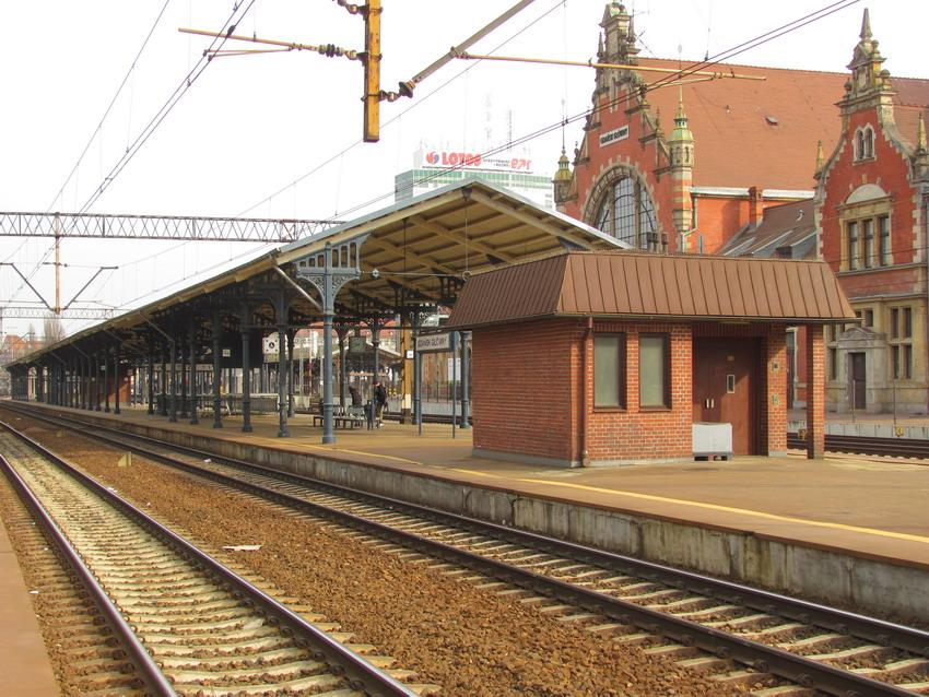 Nowe perony i windy. Dworzec Gdańsk Główny będzie przebudowany